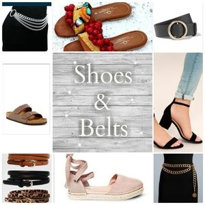 Accessories - Shoes & Belts